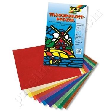 Folia Transparan Kağıt 18,5X29,7 Cm Renkli